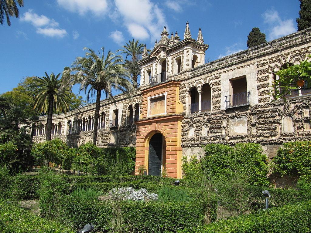 Dans le jardin du Real Alcazar de Séville – Photo de Michiel1972