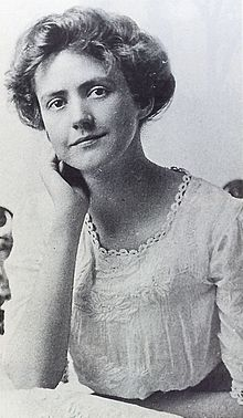 Susan Glaspell graduation portrait, 1894.