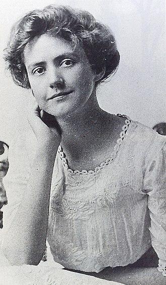 Susan Glaspell - Susan Glaspell graduation portrait, 1894.