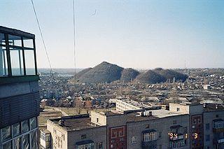 Shakhty City in Rostov Oblast, Russia