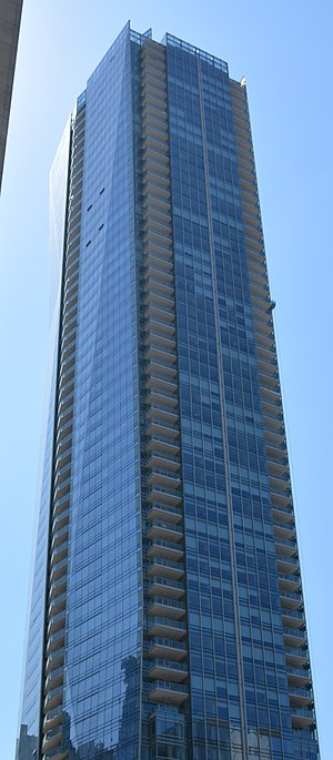 Shangri-La Toronto - The building in April 2013
