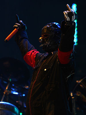 Shawn Crahan - Shawn Crahan at Mayhem Festival in 2008