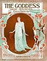 Sheet music cover - THE GODDESS - VALSE HESITATION (1915).jpg