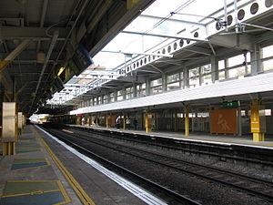 East Rail Line - Sheung Shui Station platform