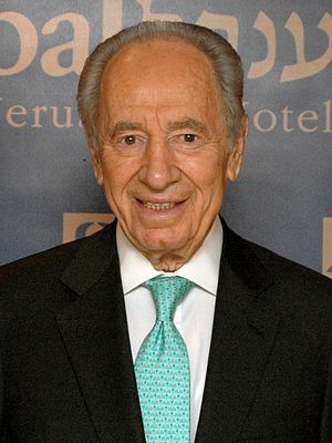 Israeli presidential election, 2000 - Image: Shimon Peres, WJC Plenary Assembly, 2009