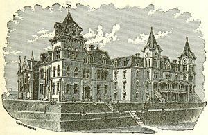 Shorter University - The college depicted in the 1885 book The Commonwealth of Georgia.