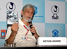 "Shri Ketan Anand addressing a Press Conference on 'Meet the Director' ""Remembering Chetan Anand"", during the 40th International Film Festival (IFFI-2009), at Panaji, Goa on November 27, 2009.jpg"