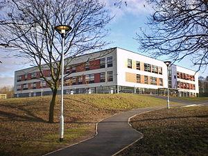 Shuttleworth College, Padiham - Image: Shuttleworth College