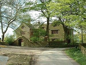 Grade I listed buildings in Lancashire - Image: Shuttleworth Hall, near Padiham geograph.org.uk 11423