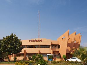 Panafrican Film and Television Festival of Ouagadougou - FESPACO Headquarters at Ouagadougou