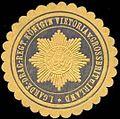 Siegelmarke 1. Garde-Dragoner-Regiment Königin Viktoria v. Grossbritannien und Irland W0288103.jpg