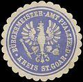 Siegelmarke Bürgermeister-Amt Pfalzfeld Kreis St. Goar W0382828.jpg