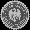Siegelmarke Finanzamt Lübbecke-Westf. W0348145.jpg