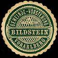 Siegelmarke Gemeinde-Vorstehung Bildstein - Vorarlberg W0261308.jpg