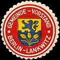 Siegelmarke Gemeinde - Vorstand - Berlin - Lankwitz W0205087.jpg
