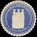 Siegelmarke Gemeindevorstand Johannisthal-Berlin-Kreis Teltow W0345524.jpg