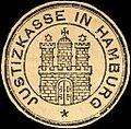 Siegelmarke Justizkasse in Hamburg W0205574.jpg