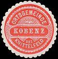 Siegelmarke Ortsgemeinde Kobenz bei Knittelfeld W0386306.jpg
