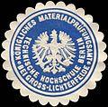 Siegelmarke Technische Hochschule Berlin - Königliches Materialprüfungsamt bei Gross - Lichterfelde W0215710.jpg