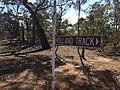 Sign marking Holland Track near Badgebup.jpg