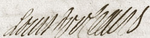 Signature of Louis d'Orléans, Duke of Orléans at the wedding of Louis, Dauphin of France to Marie Thérèse of Spain on 23 February 1745.png