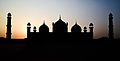 Silhouette of Badshahi Mosque Lahore.jpg