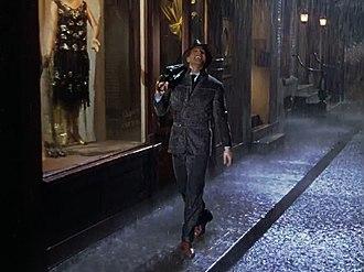 Singin' in the Rain (song) - Gene Kelly performing the song in the 1952 film Singin' in the Rain.