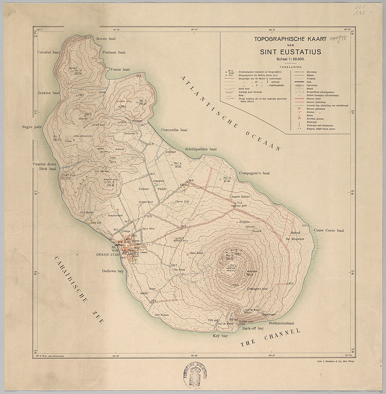FileSint Eustatius Map Jpg Wikimedia Commons - Sint eustatius map