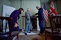 Sir Reid Presents Secretary Kerry With the Benjamin Franklin Medal for Leadership in London (30390317520).jpg