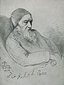 Sir Richard Owen. Reproduction of drawing, 1896, after R. Le Wellcome V0004402.jpg