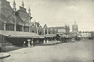 New Market, Kolkata - Sir Stuart Hogg Market, c. 1905