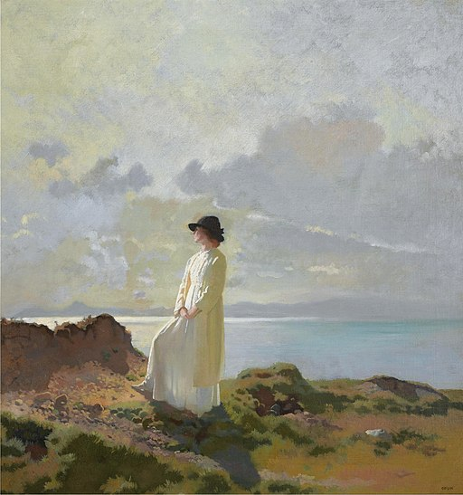 Sir William Orpen - In the cliffs, Dublin bay, in the morning