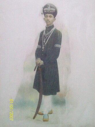 Mir Yousuf Ali Khan, Salar Jung III - Image: Sj 4