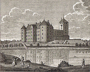Skanderborg - The renaissance version of Skanderborg Castle.