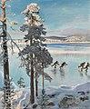 Skaters on Lake Ruovesi .jpg