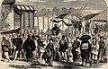 Sketches in Japan, the Storyteller (A Daily Scene) in Yokuhama - ILN 1861.jpg