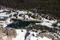 Ski lift and lake at Mammoth Lakes, California LCCN2013633729.tif