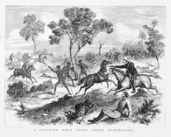 Skirmish near Creen Creek