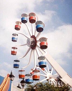 Sky Whirl - Each wheel had 12 passenger cars