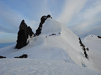 Snæfellsjökull - Volcanic plugs at the summit
