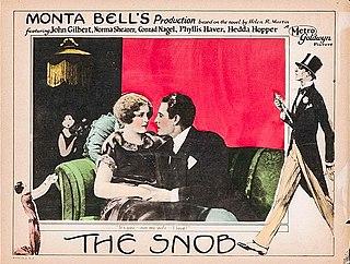 <i>The Snob</i> (1924 film) 1924 film by Monta Bell