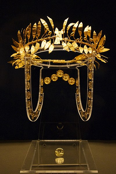 File:Sofia - Odrysian Wreath from Golyamata Mogila.jpg