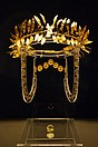 Thracian golden wreath