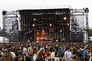Solidays French music festival