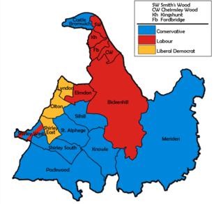 1998 Solihull Metropolitan Borough Council election