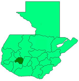 Santa María Visitación Municipality of Sololá Department, Guatemala