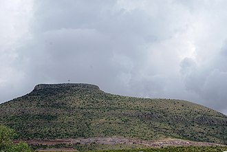 Zacatecas - Sombreretillo Mountain in the northwest