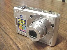 list of sony cyber shot cameras wikipedia rh en wikipedia org Cyber-shot HX50V Digital Camera Sony Cyber-shot Charger