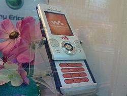 Image illustrative de l'article Sony Ericsson W580i