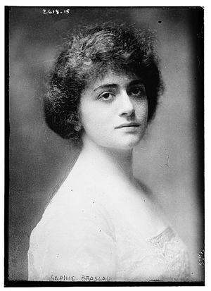Sophie Braslau - Image: Sophie Braslau circa 1915
